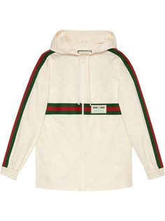 Gucci худи с нашивкой-логотипом