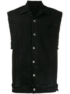 Rick Owens DRKSHDW джинсовая куртка без рукавов