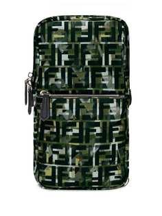 Fendi рюкзак на одно плечо с логотипом FF