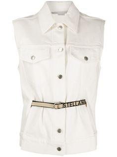 Stella McCartney джинсовая куртка без рукавов