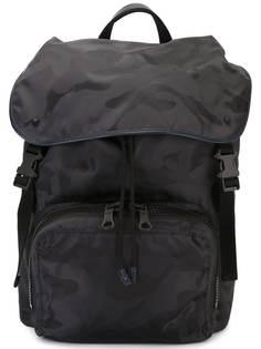 Valentino рюкзак с камуфляжным принтом