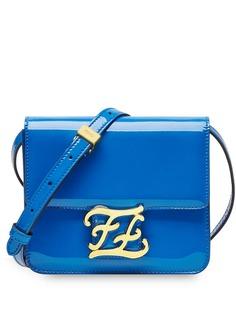 Fendi лакированная сумка на плечо Karligraphy