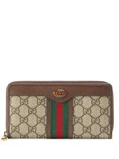 Gucci кошелек с узором GG Supreme