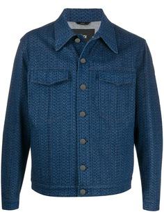 Fendi джинсовая куртка с логотипом