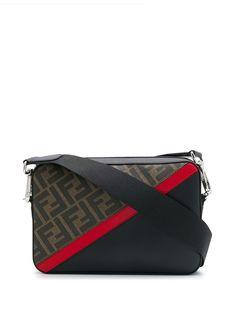 Fendi каркасная сумка с узором Zucca