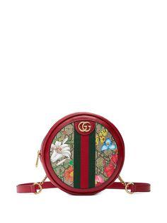 Gucci сумка на плечо Ophidia с принтом Flora