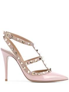 Valentino туфли с заклепками Rockstud