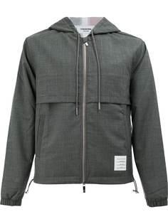 Thom Browne куртка с капюшоном и полосами на спине