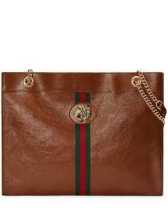 Gucci объемная сумка-тоут Rajah
