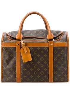 Louis Vuitton чемодан с узором с монограммами