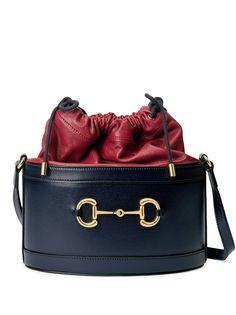 Gucci сумка Borsa Secchiello 1955-го года с пряжкой Horsebit