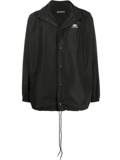 Balenciaga непромокаемая куртка с логотипом