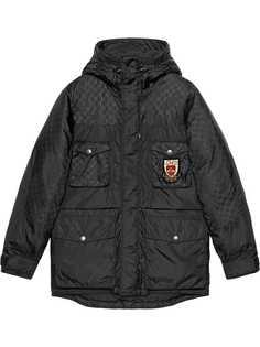 Gucci куртка с узором GG