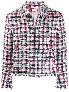 Thom Browne куртка с бахромой