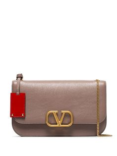 Valentino Garavani сумка на плечо среднего размера с логотипом VLogo