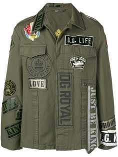 Dolce & Gabbana классическая куртка-рубашка