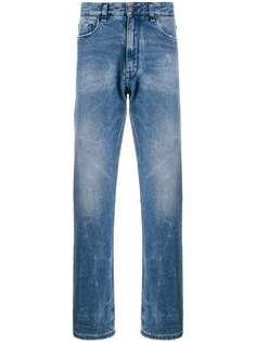 Fendi прямые джинсы свободного кроя
