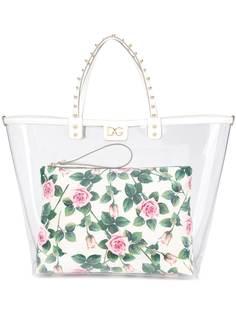 Dolce & Gabbana сумка с цветочным принтом