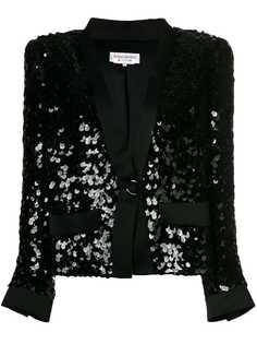 Yves Saint Laurent Pre-Owned куртка с пайетками
