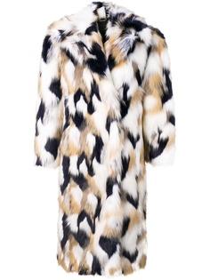 Givenchy шуба в стиле оверсайз