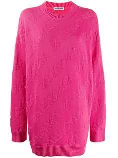 Balenciaga свитер с логотипом