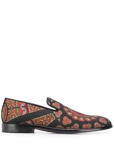 Dolce & Gabbana слиперы с принтом