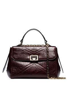 Givenchy сумка на плечо среднего размера с металлическим логотипом