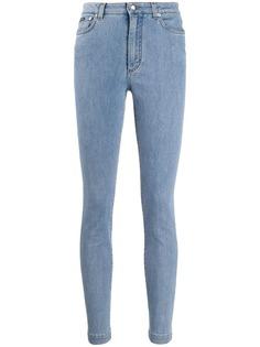 Dolce & Gabbana джинсы скинни с завышенной талией