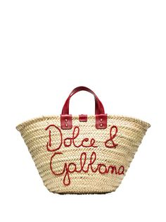 Dolce & Gabbana сумка-тоут Kendra с вышитым логотипом