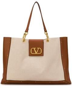 Valentino сумка-тоут с логотипом VLogo