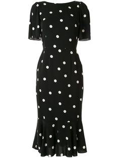 Dolce & Gabbana платье в горох