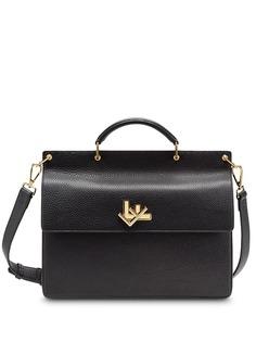 Fendi портфель с верхней ручкой и ремнем на плечо
