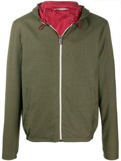 Canali куртка на молнии с капюшоном