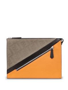 Fendi клатч в стиле колор-блок