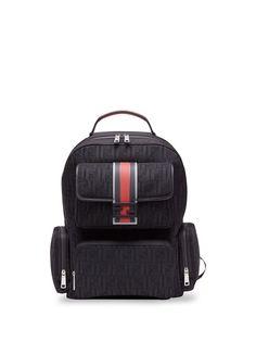Fendi рюкзак с логотипом FF