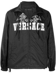 Versace куртка с логотипом