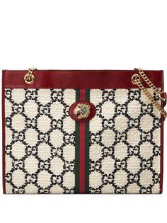 Gucci объемная сумка-тоут Rajah GG