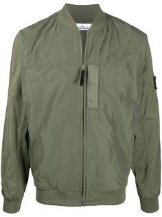 Stone Island куртка-бомбер на молнии