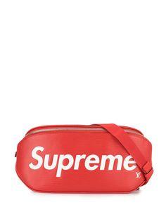 Louis Vuitton поясная сумка с логотипом из коллаборации с Supreme