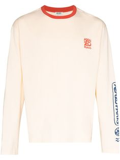Kenzo футболка Ocean Club с логотипом