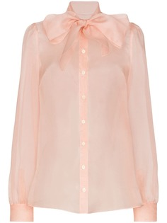 Dolce & Gabbana блузка с бантом