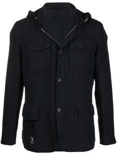 Eleventy легкая куртка с капюшоном