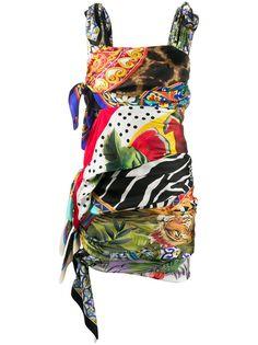 Dolce & Gabbana платье мини с принтом