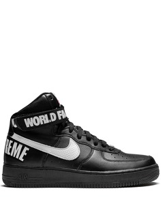 Nike высокие кроссовки Air Force 1 из коллаборации с Supreme