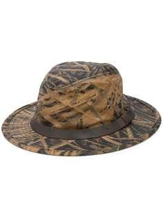 Filson шляпа-федора с камуфляжным принтом