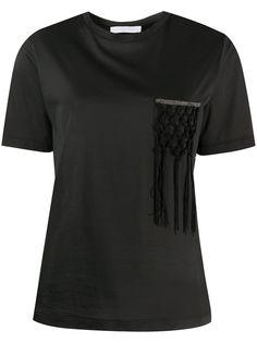 Fabiana Filippi футболка с узлом