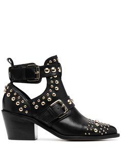 Kurt Geiger London ботинки с заклепками и пряжками