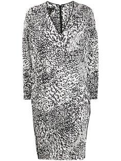 Escada платье с абстрактным принтом