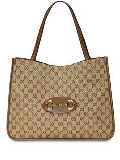 Gucci сумка-тоут 1955 с пряжкой Horsebit