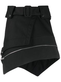 Alexander Wang юбка асимметричного кроя